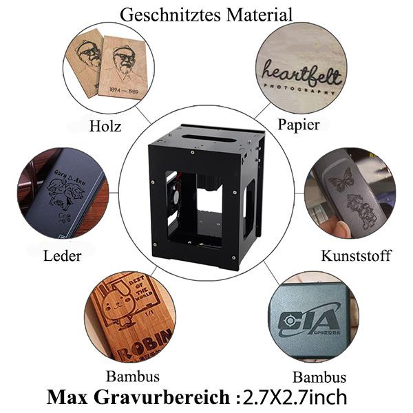 1500mw Laser Graviermaschine