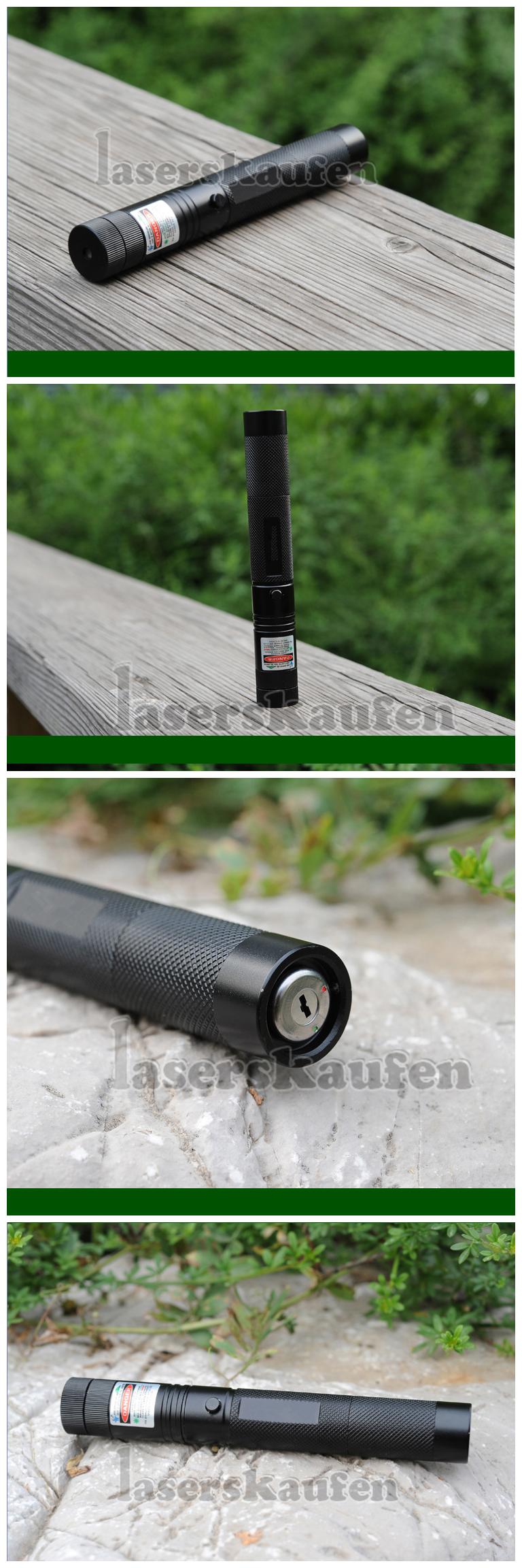 Laserpointer Grün 5000mW mit Schlüssel