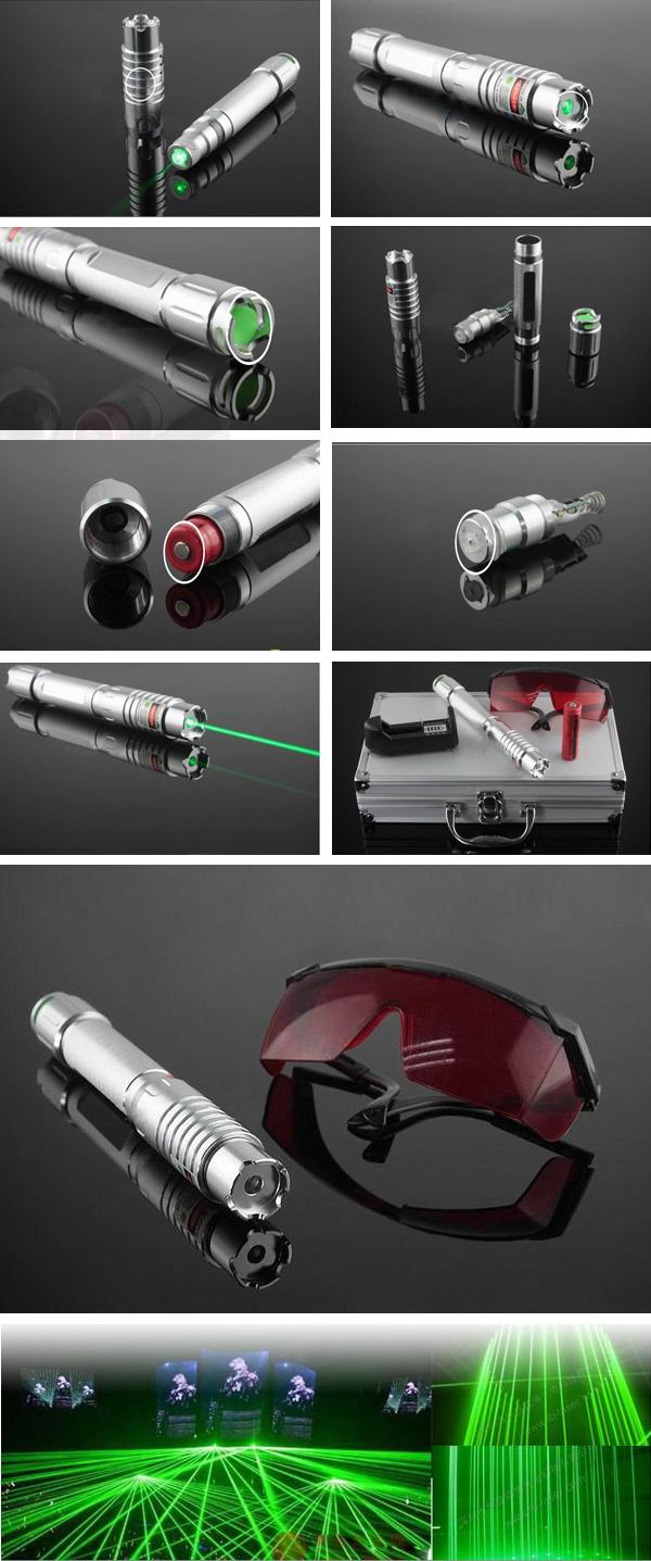 Laserpointer extrem stark 5000mW grün hohe Leistung