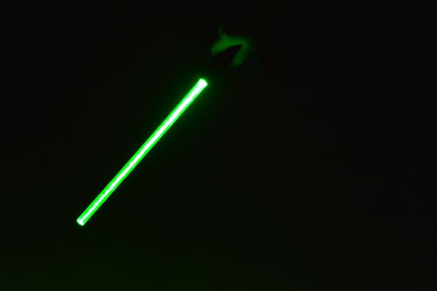 laserpointer mit Laserschwert