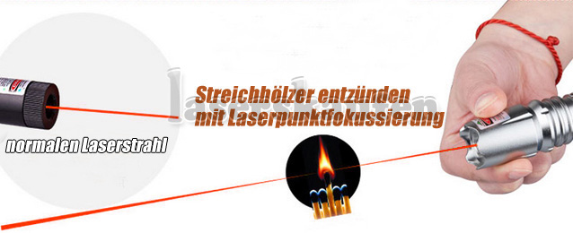 Fokussierbare Laserpointer 500mW