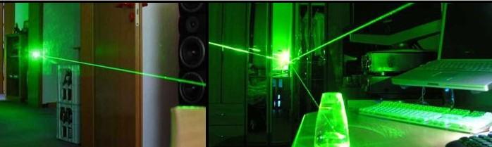 200mW grüner Laserpointer
