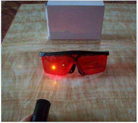 grüne Laser Schutzgehäuse   grüne Lasersichtbrille