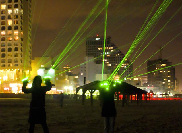 laser handschuhe