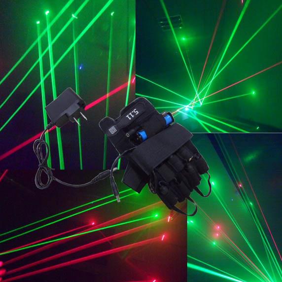 laser handschuhe grün