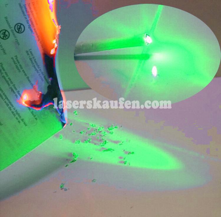 Wasserdicht Grüner Laserpointer 3000mW