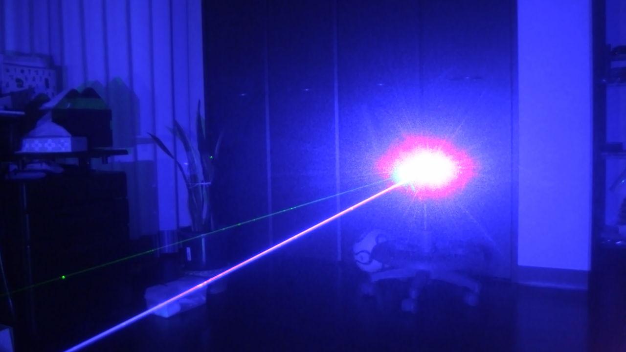 Starke Blauen Laserpointer 200mW