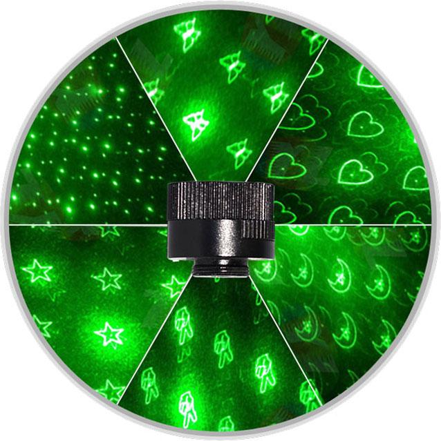 Laserpointer 10000mw 8 in 1