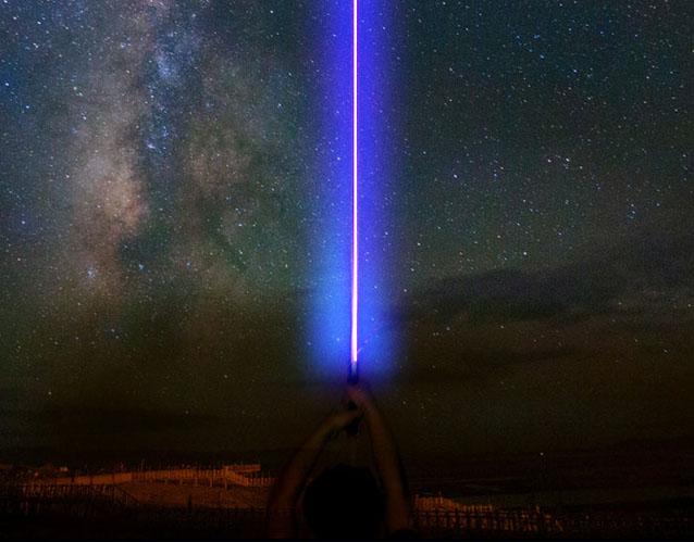 Blau Laserschwert 5000mw