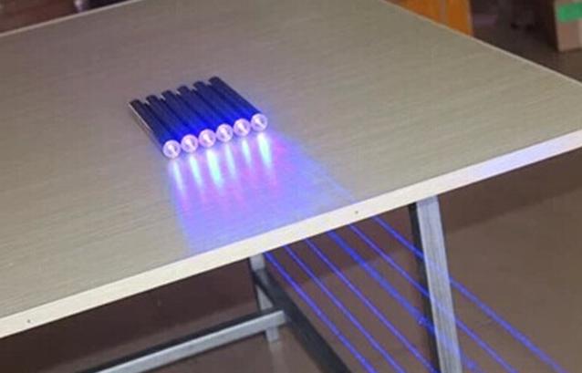 50000mw blau laser