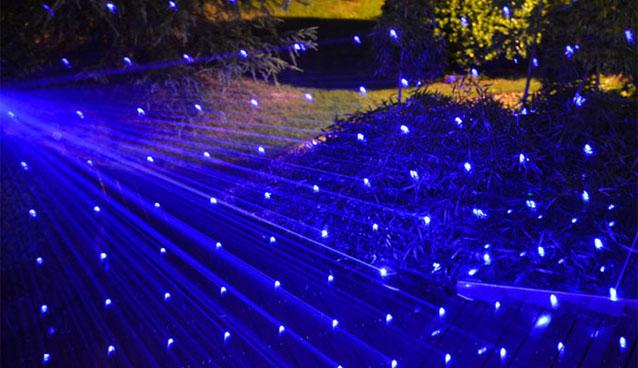 Blau 2000mw laser