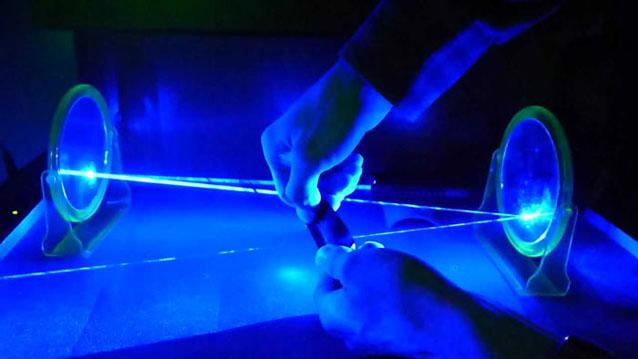 Starker Blau Laser 40000mw