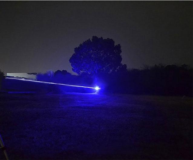 4W Laserpointer Blau