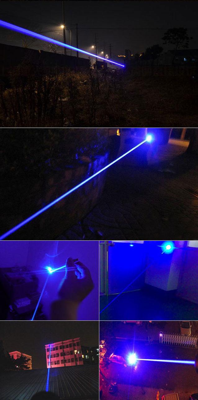 Blau 5W Laser
