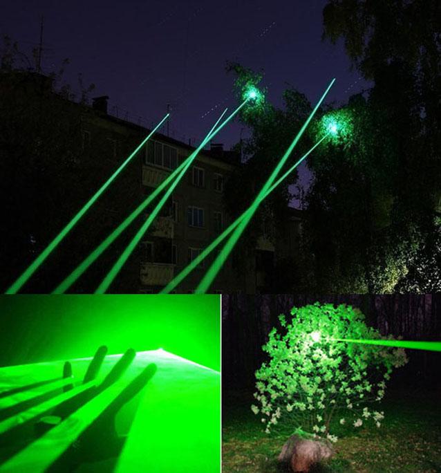 Grün 8000mw laser