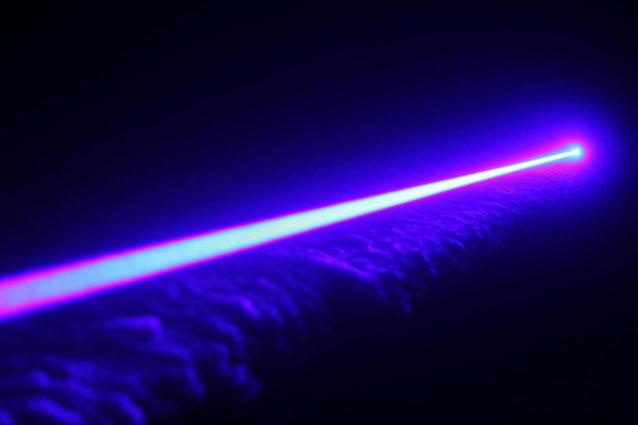 Laserpointer violett 350mw