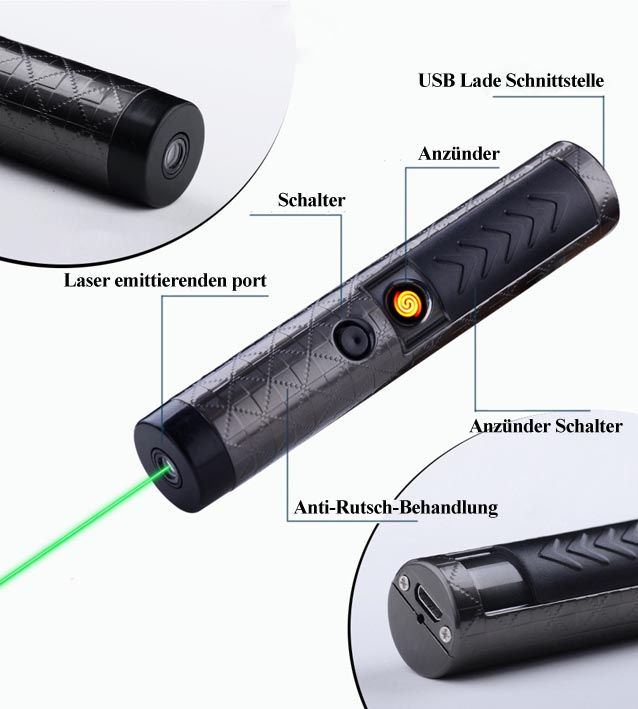 z ndung laserpointer 100mw usb kaufen. Black Bedroom Furniture Sets. Home Design Ideas