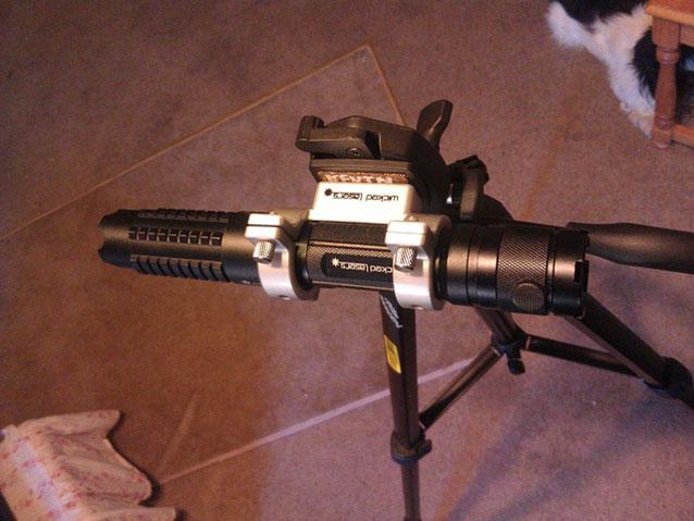Blau 30000mw Laserpointer