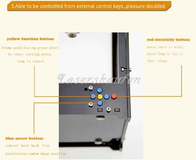 Laser Graviermaschine Miniatur