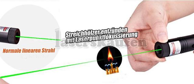 5000mW Laserpointer mit Laserpunktfokussierung