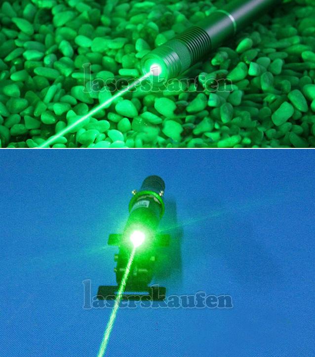 Starker Laserpointer 2000mW Grün wasserdicht