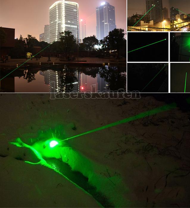 Laserpointer 2000mW grün