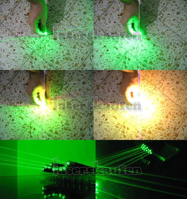 Starke Laserpointer Grün 500mW