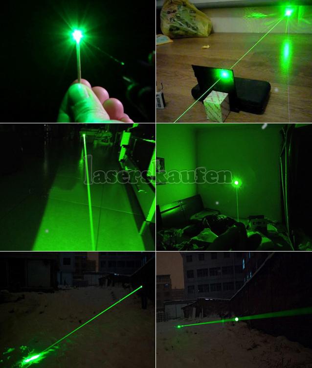 Hohe Leistung Laserpointer Grün fokussierbar