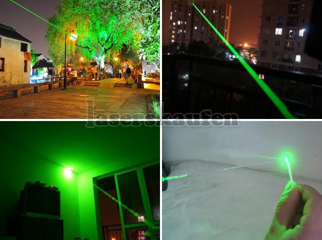 Laserpointer Grün 2000mW mit Schlüssel