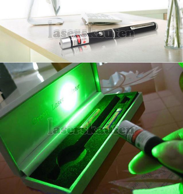 Grüner Laserpointer Stift 100mW
