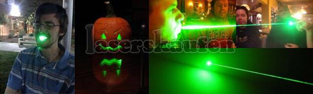 Laserpointer Stift 100mW hell