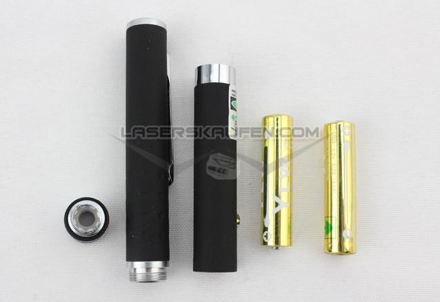 Laserpointer Stift grün 5mW