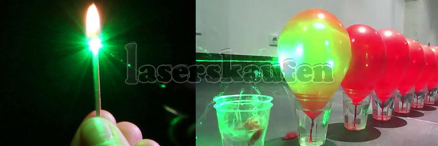 Laserpointer 100mW pop Ballon
