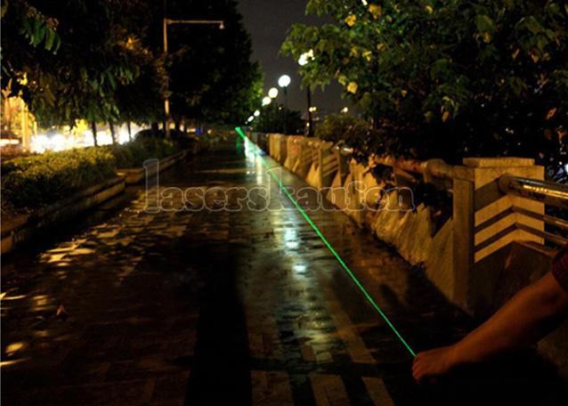Grüner Laserpointer 100mW billig
