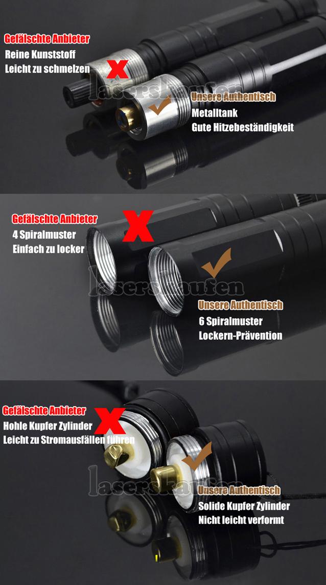 200mW Laserpointer Grün