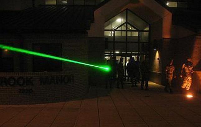 Starke Laserpointer grün 200mW