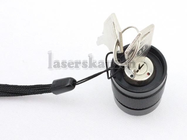 Laserpointer 300mW stark mit Sicherheitsschlüssel