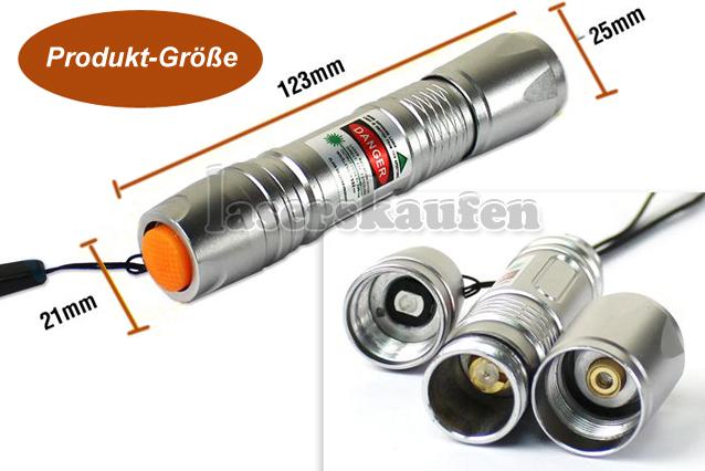 Laserpointer 300mW  grün