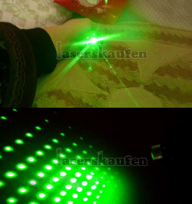 LED mit laserpointer