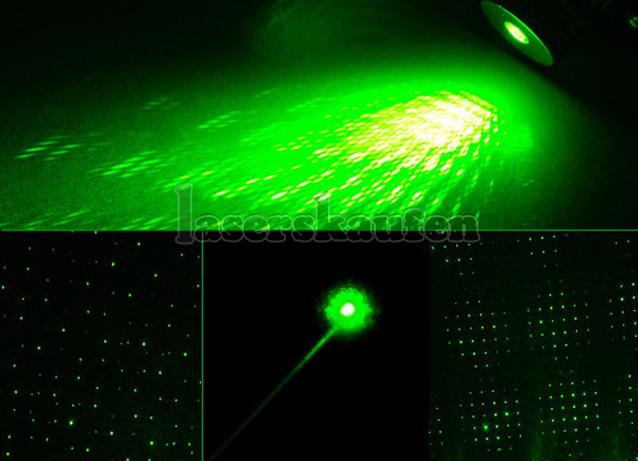 LED mit laserpointer 100mw