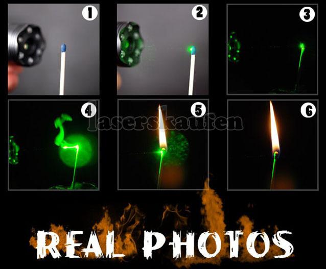 LED mit 100mw laserpointer