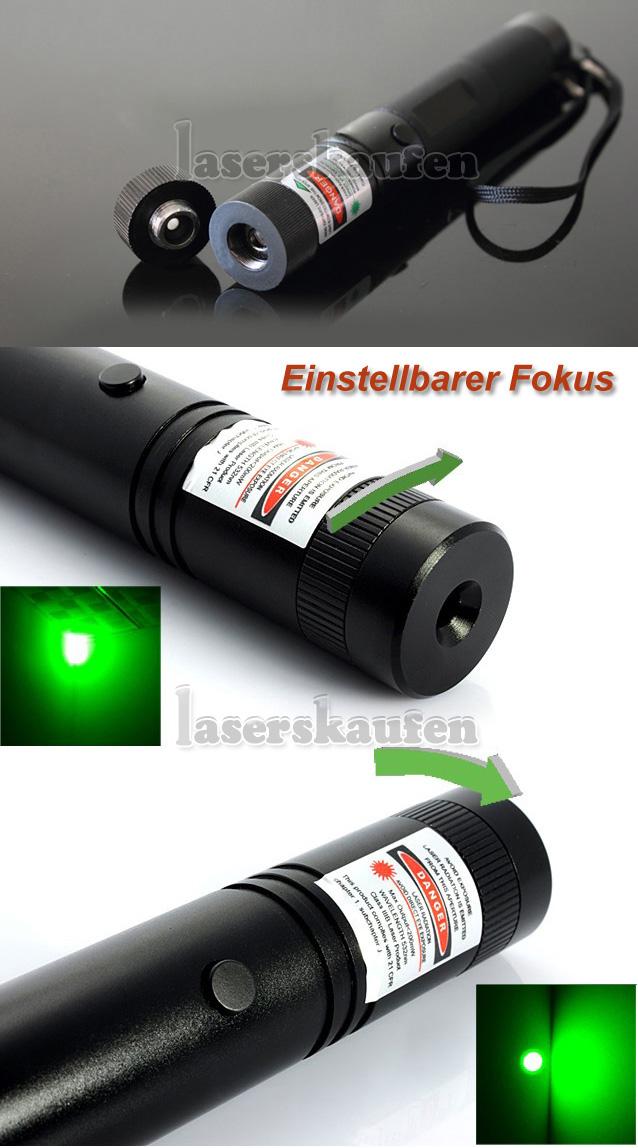 300mW grüne Laserpointer