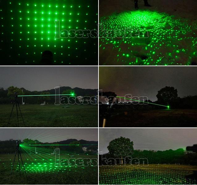 grüne 300mW Laserpointer