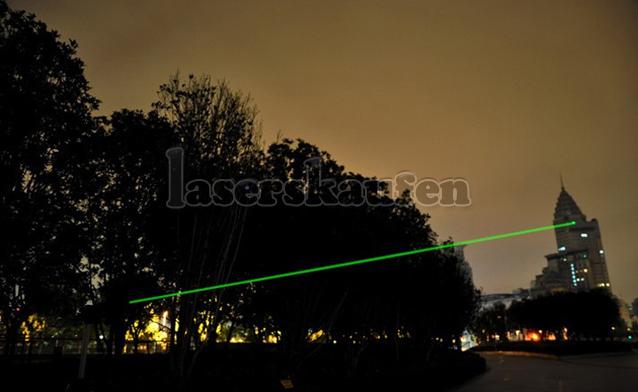 stärke Laserpointer grün 300mW