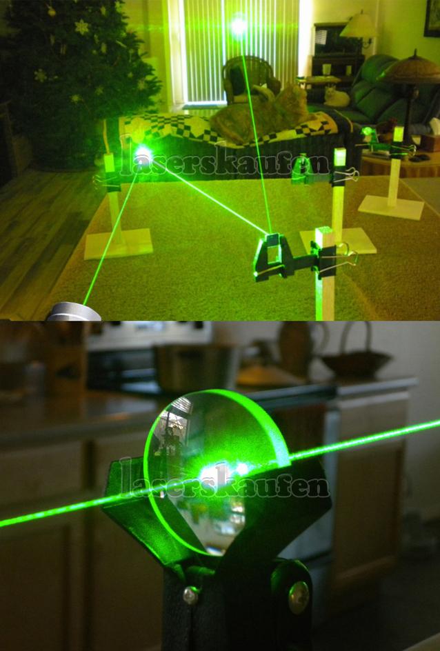 Laserpointer 200mw grün Laserstrahl