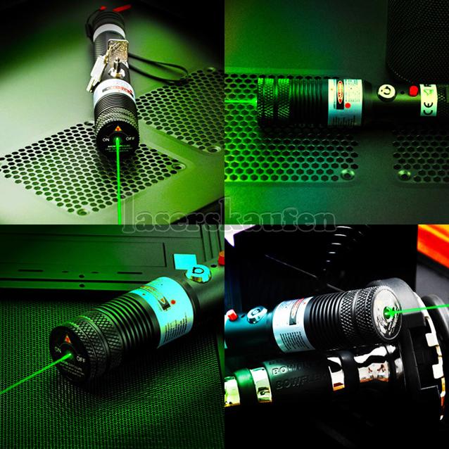 Laserpointer 1000mW grün