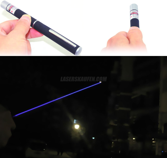 Laserpointer Stift blau 20mW