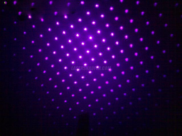 Laserpointer Blau / Lila Aufsatz