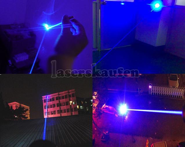 Blauer Laserpointer