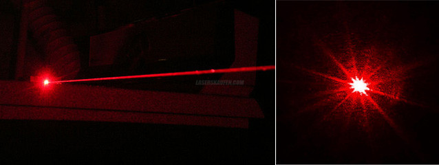 Laserpointer Stift Rot hohe Leistung